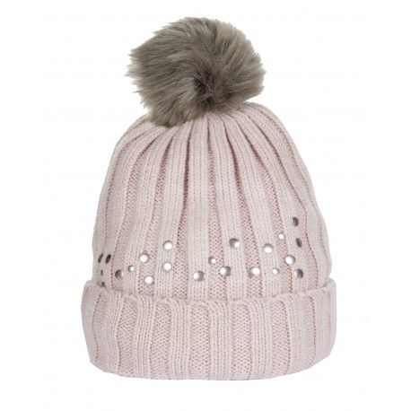 Cavalino Marino Bobble Hat - Copper Kiss